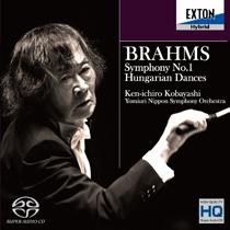 ブラームス:交響曲 第1番、ハンガリー舞曲集