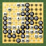 天頂の囲碁4 30秒モード 九路盤定先3目勝ち