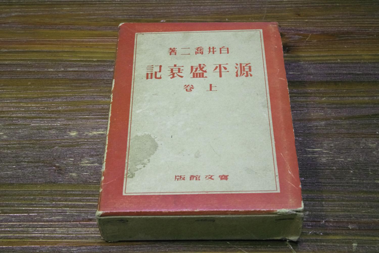 白井喬二の「源平盛衰記」(上)
