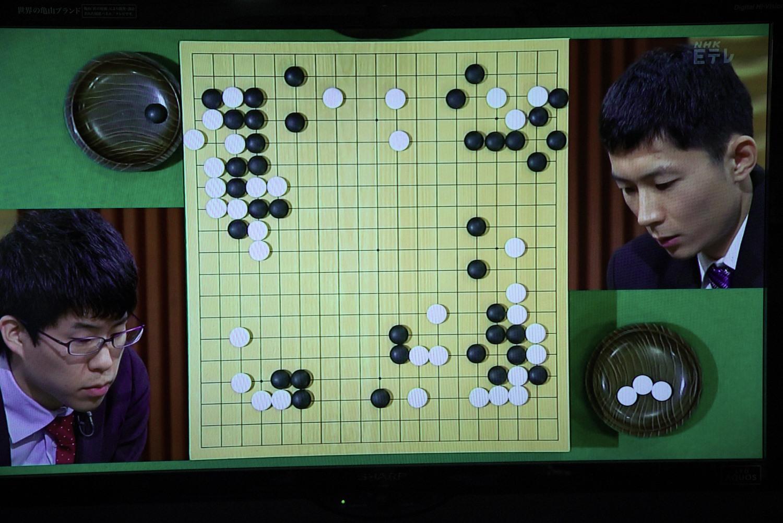 NHK杯囲碁 伊田篤史8段 対 河英一6段