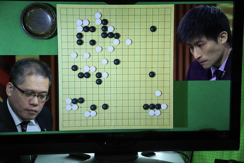 NHK杯戦囲碁 山城宏9段 対 張栩NHK杯選手権者