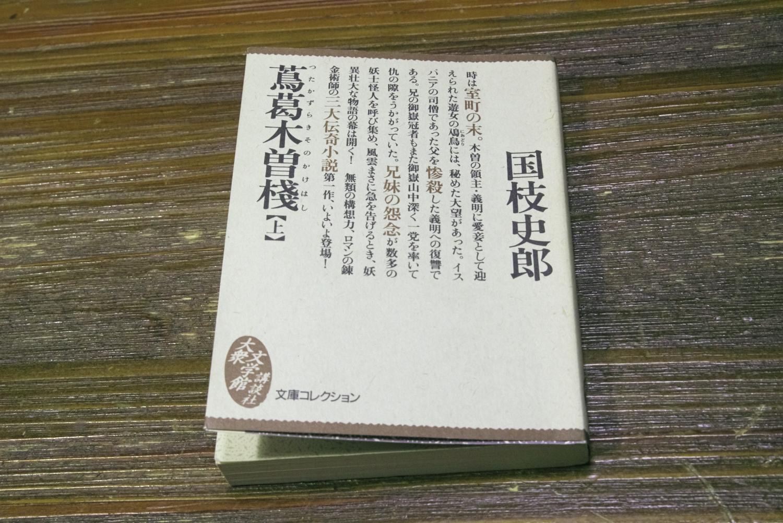 国枝史郎の「蔦葛木曽桟」(上)