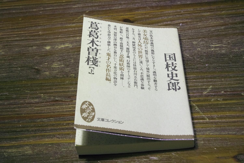 国枝史郎の「蔦葛木曽桟」(下)