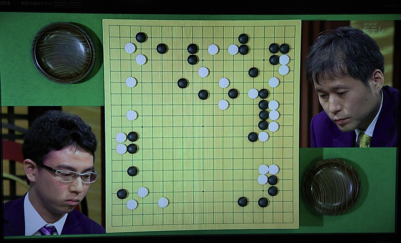 NHK杯戦囲碁 一力遼7段 対 高尾紳路名人