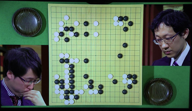 NHK杯戦囲碁 井山裕太棋聖 対 河野臨9段