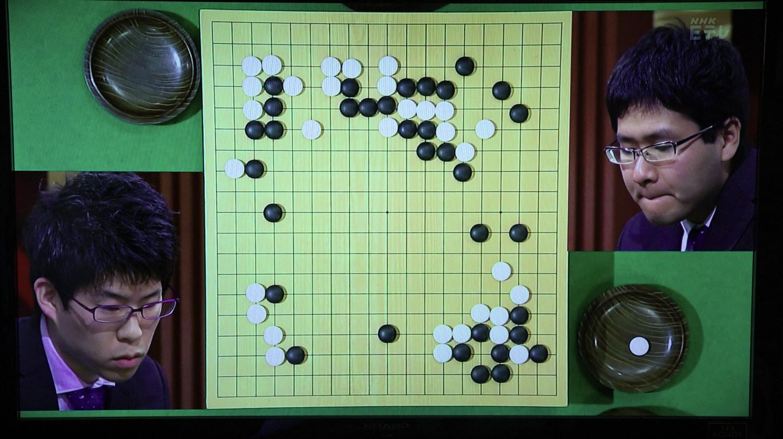 NHK杯戦囲碁 伊田篤史8段 対 寺山怜4段