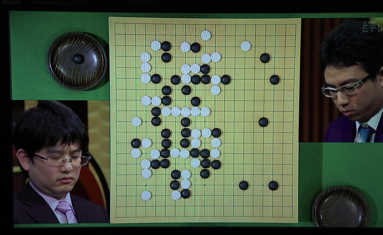 NHK杯戦囲碁 山下敬吾9段 対 一力遼7段