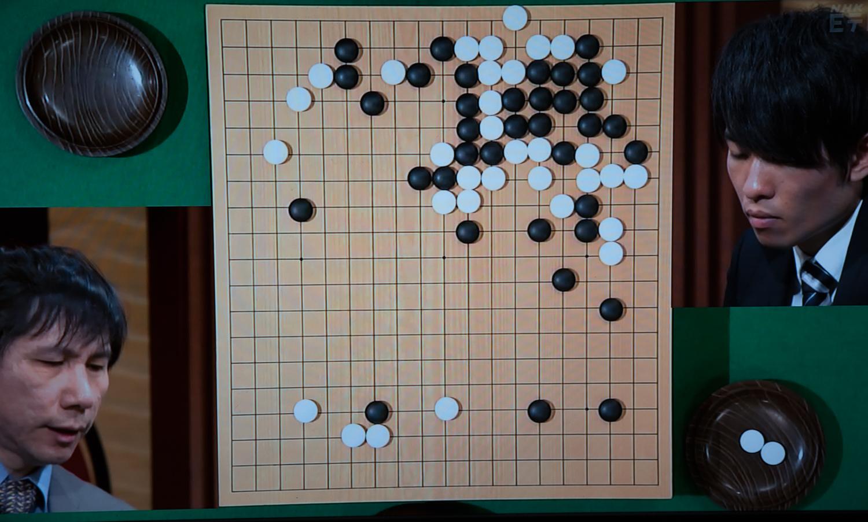 NHK杯戦囲碁 王銘エン9段 対 本木克弥7段