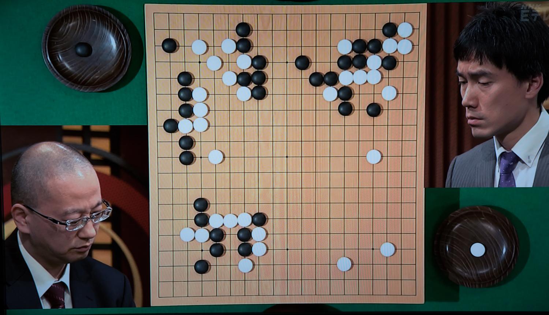 NHK杯戦囲碁 湯川光久9段 対 潘善琪8段