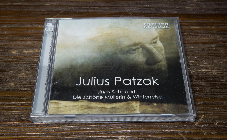 ユリウス・パツァークの「美しき水車小屋の娘」と「冬の旅」