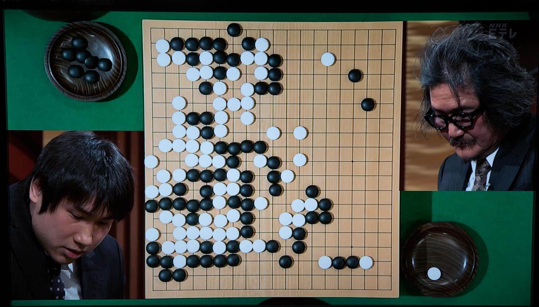 NHK杯戦囲碁 蘇耀国9段 対 趙治勲名誉名人