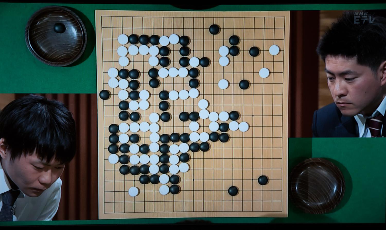 NHK杯戦囲碁 呉柏毅 3段 対 鶴山淳志7段