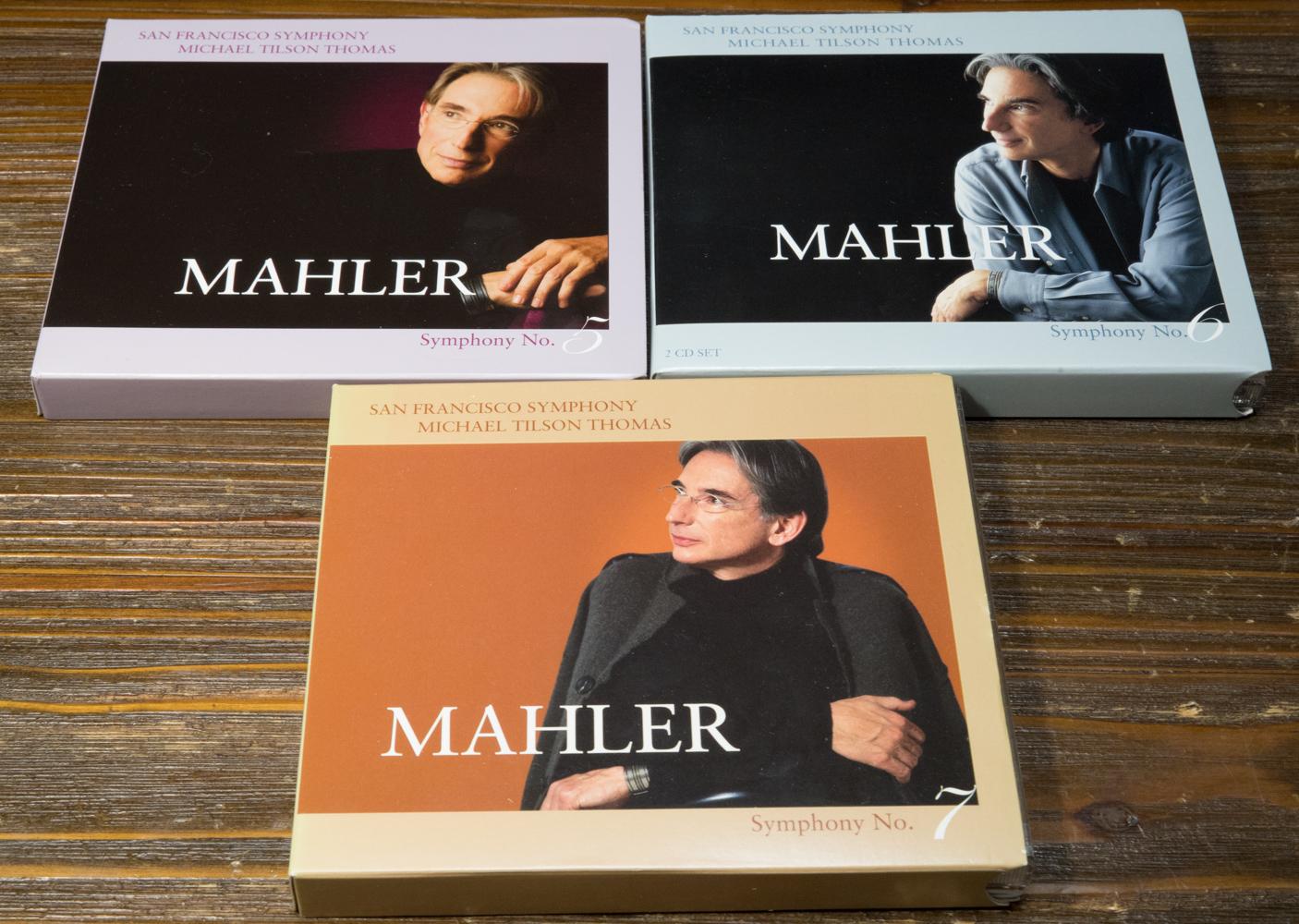 マイケル・ティルソン・トーマス指揮サンフランシスコ交響楽団のマーラーの交響曲全集