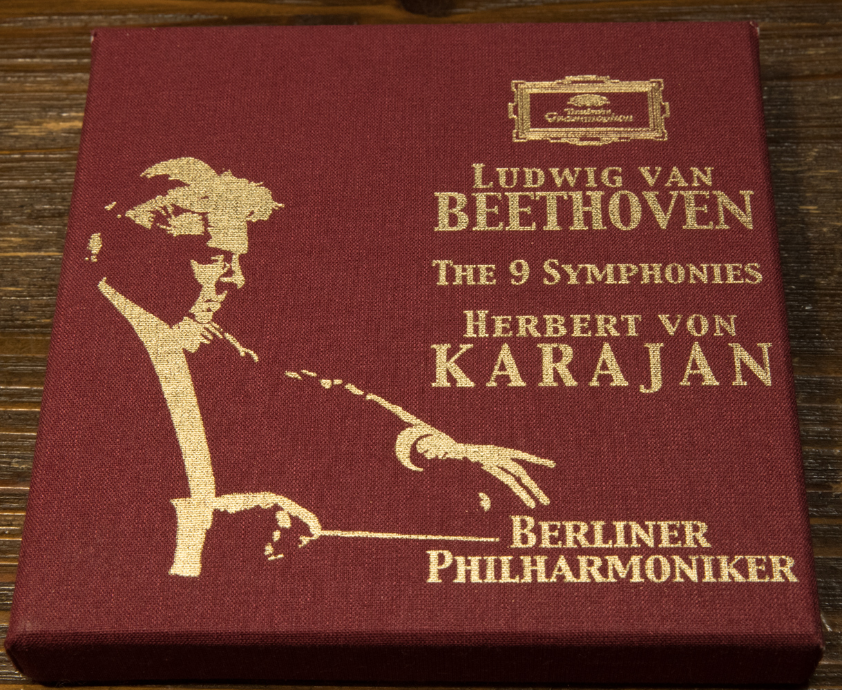 カラヤン/ベルリンフィルのベートーヴェン交響曲全集(1961年~62年録音)