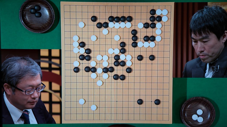 NHK杯戦囲碁 今村俊也9段 対 山田規三生9段