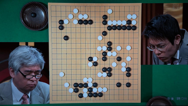 NHK杯戦囲碁 苑田勇一9段 対 三谷哲也7段
