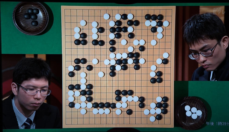 NHK杯戦囲碁 安達利昌4段 対 内田修平7段