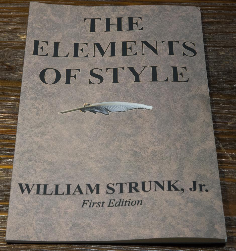 """ウィリアム・ストランク・ジュニアの""""The Elements of Style"""""""
