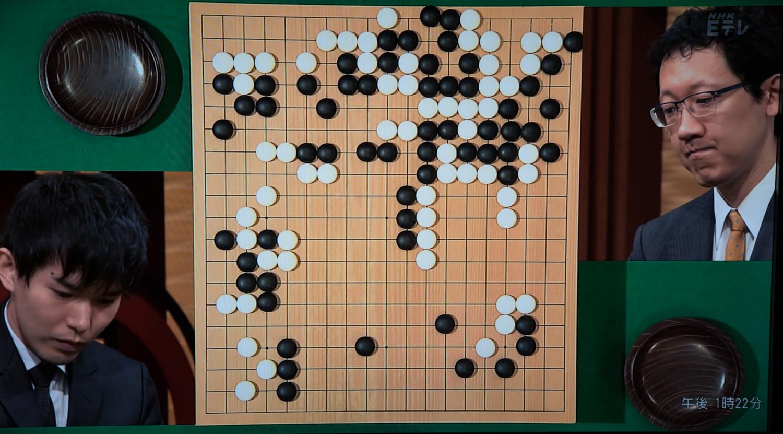 NHK杯戦囲碁 瀬戸大樹8段 対 河野臨9段