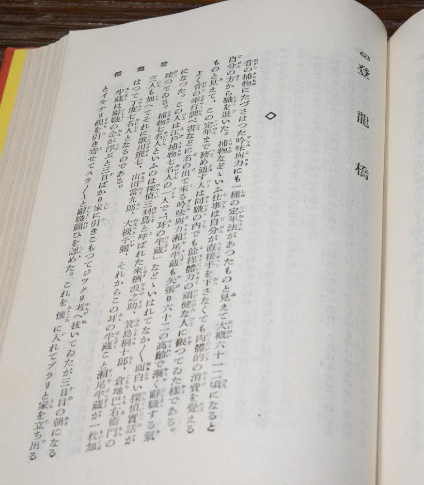 白井喬二の「登龍橋」