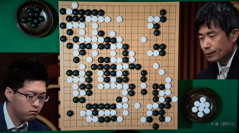 NHK杯戦囲碁 村川大介8段 対 趙善津9段