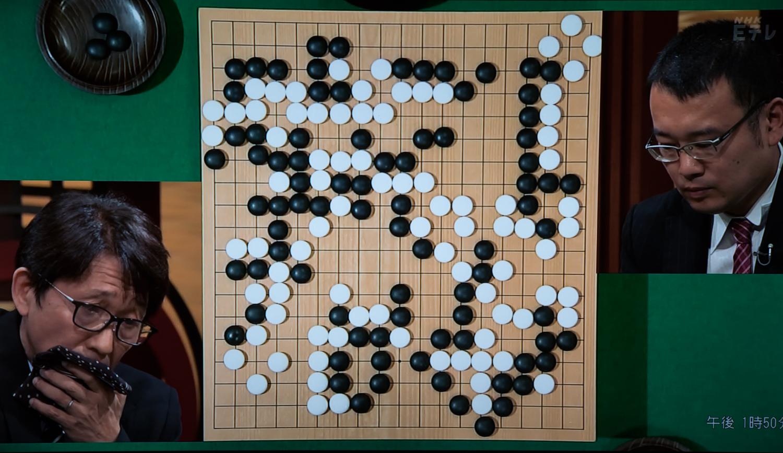 NHK杯戦囲碁 小林覚9段 対 結城聡9段
