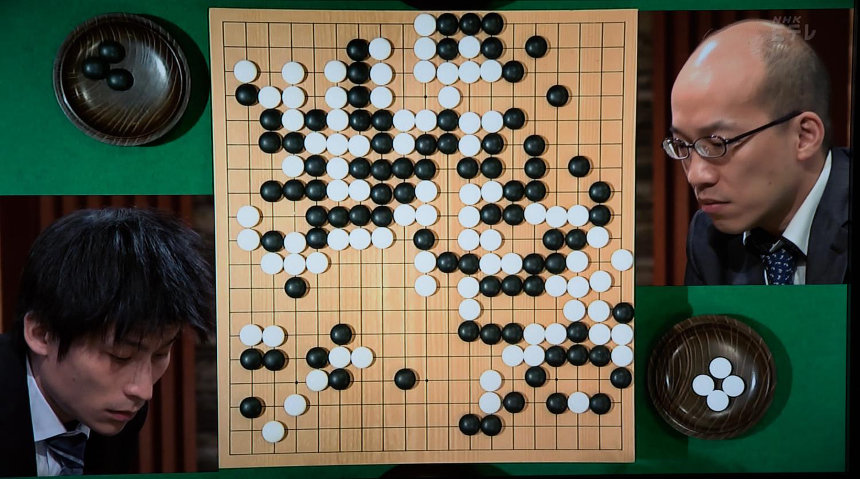 NHK杯戦囲碁 張栩9段 対 張豊猷8段