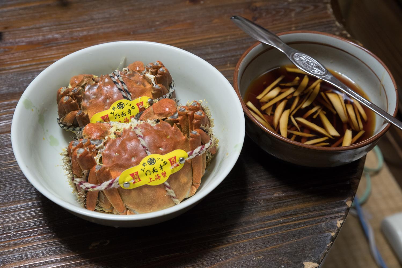 上海蟹に再挑戦