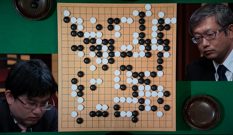 NHK杯戦囲碁 山下敬吾9段 対 今村俊也9段