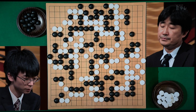 NHK杯戦囲碁 芝野虎丸7段 対 柳時熏9段