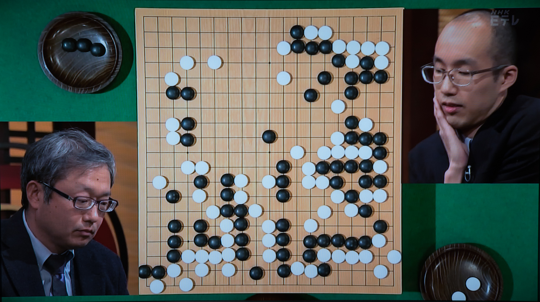 NHK杯戦囲碁 今村俊也9段 対 黄翊祖8段