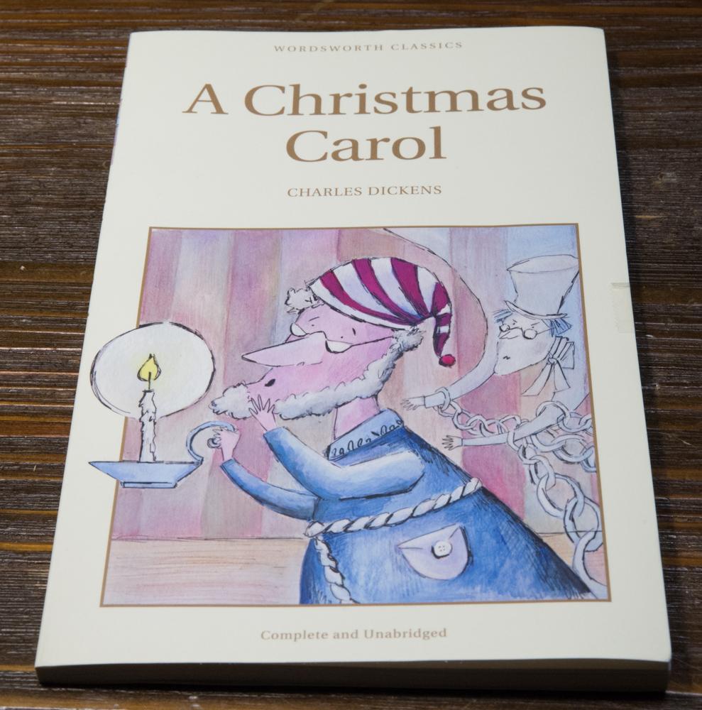 ディケンズの「クリスマス・キャロル」