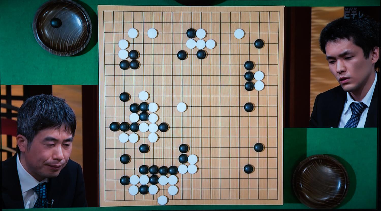 NHK杯戦囲碁 趙善津9段 対 志田達哉7段