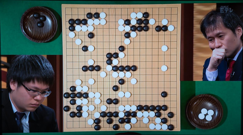 NHK杯戦囲碁 余正麒7段 対 高尾紳路9段