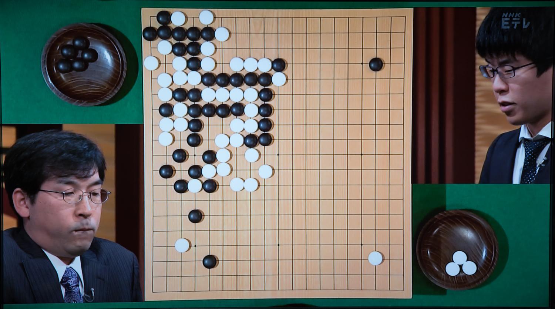 NHK杯戦囲碁 羽根直樹9段 対 伊田篤史8段