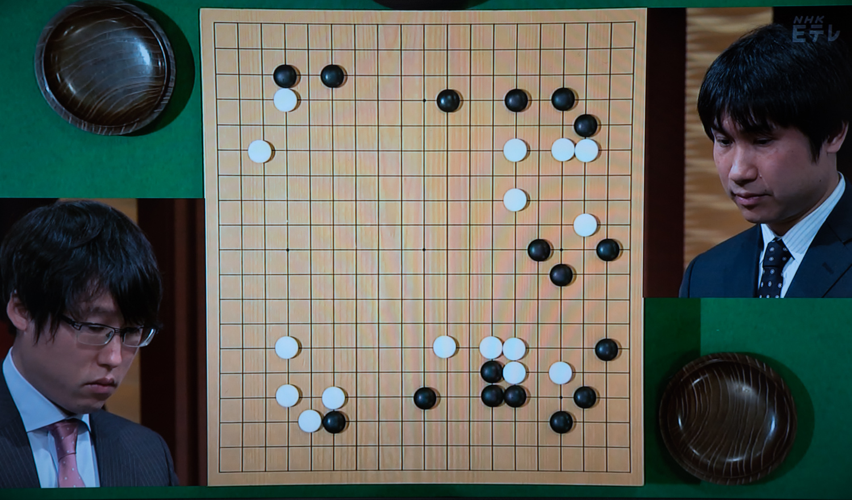 NHK杯戦囲碁 井山裕太7冠王 対 蘇耀国9段