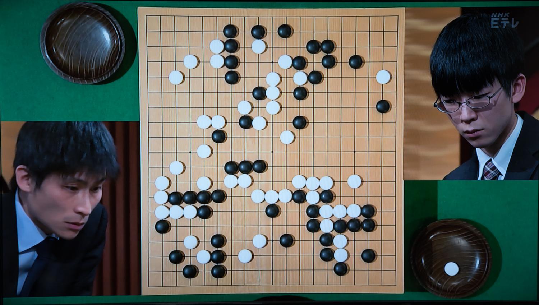 NHK杯戦囲碁 張栩9段 対 芝野虎丸7段