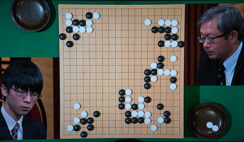 NHK杯戦囲碁 芝野虎丸7段 対 今村俊也9段