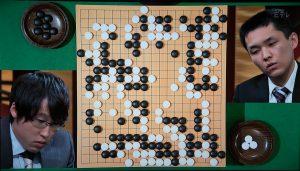 NHK杯戦囲碁 井山裕太7冠王 対 志田達哉7段