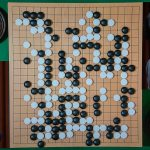 NHK杯戦囲碁 坂井秀至8段 対 柳時熏9段