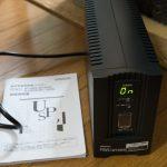 オムロンのUPSの自動シャットダウン設定ソフト(Linux用)