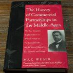 マックス・ヴェーバーの「中世合名会社史」の英訳