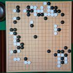 NHK杯戦囲碁 佐田篤史3段 対 金秀俊8段