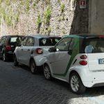 ローマでの駐車事情