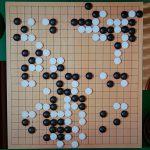 NHK杯戦囲碁 牛栄子3段 対 山田規三生9段