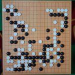 NHK杯戦囲碁 許家元碁聖 対 上野愛咲美2段