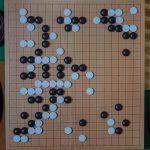 NHK杯戦囲碁 余正麒8段 対 今村善彰9段