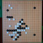 NHK杯戦囲碁 鶴田和志6段 対 王銘エン9段
