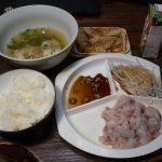 本日(6月1日)の夕食(クロダイ)