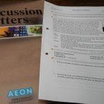 AEONのDiscussionコース、2年修了、ついでにAEONのProsとCons
